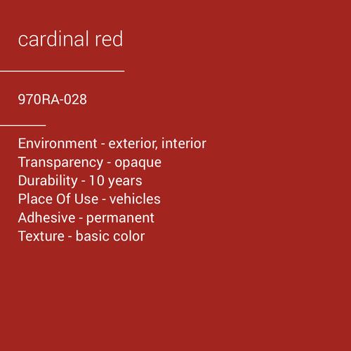 ORACAL® 970RA-028 - Cardinal Red