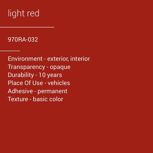 ORACAL® 970RA-032 - Light Red