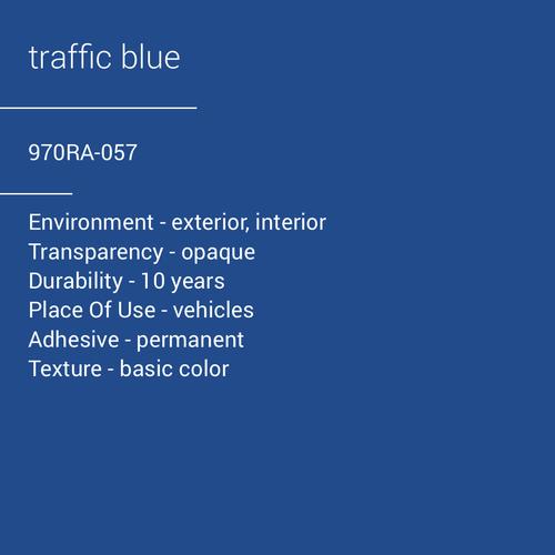 ORACAL® 970RA-057 - Traffic Blue