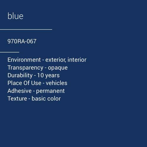 ORACAL® 970RA-067 - Blue