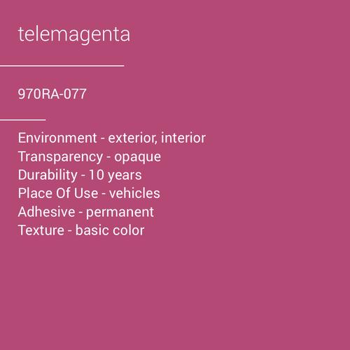 ORACAL® 970RA-077 - Telemagenta