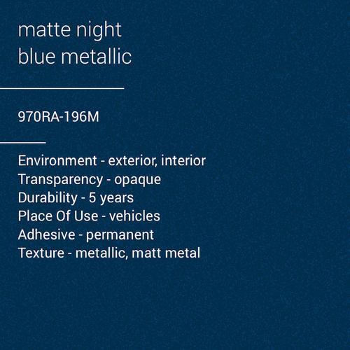 ORACAL® 970RA-196M - Matte Night Blue Metallic