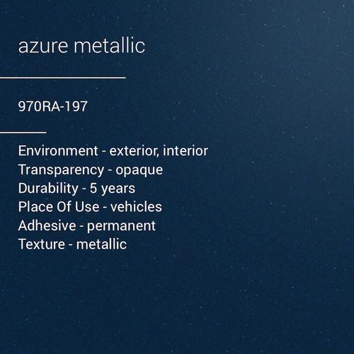 ORACAL® 970RA-197 - Azure Metallic