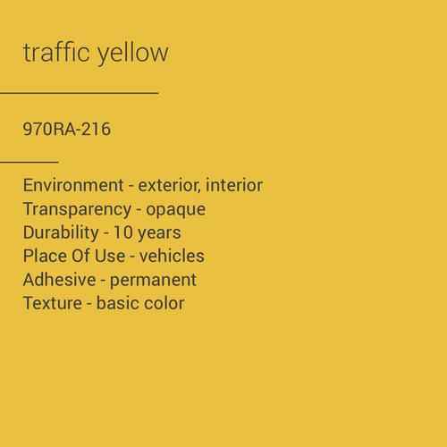 ORACAL® 970RA-216 - Traffic Yellow