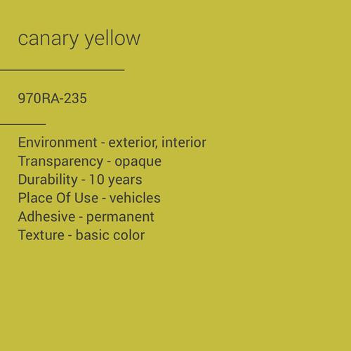 ORACAL® 970RA-235 - Canary Yellow