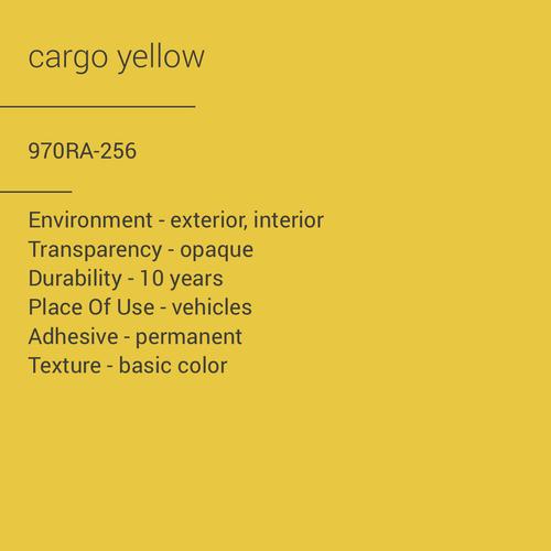 ORACAL® 970RA-256 - Cargo Yellow