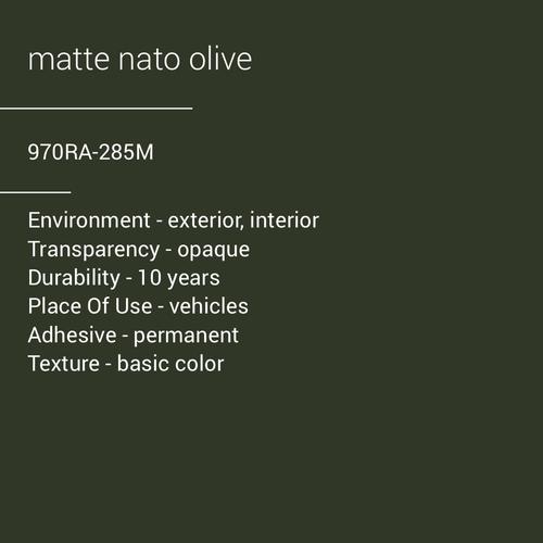 ORACAL® 970RA-285M - Matte Nato Olive