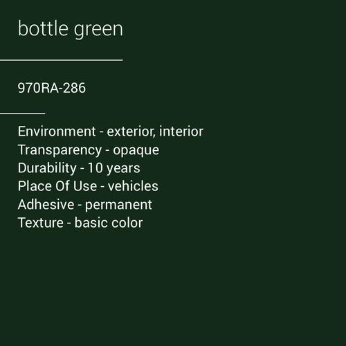 ORACAL® 970RA-286 - Bottle Green