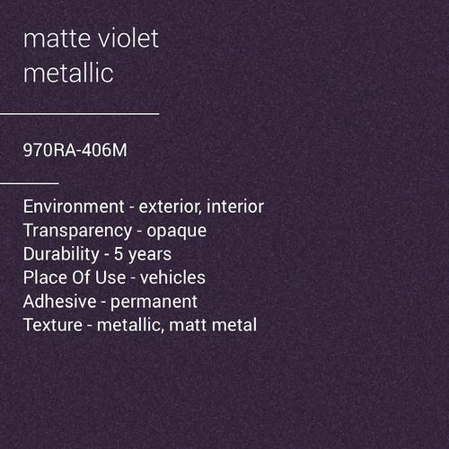 ORACAL® 970RA-406M - Matte Violet Metallic