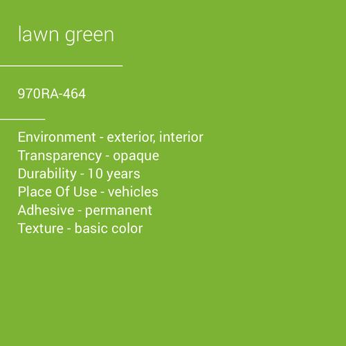 ORACAL® 970RA-464 - Lawn Green