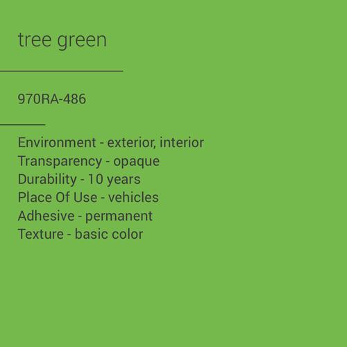ORACAL® 970RA-486 - Tree Green