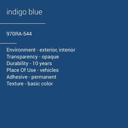ORACAL® 970RA-544 - Indigo Blue