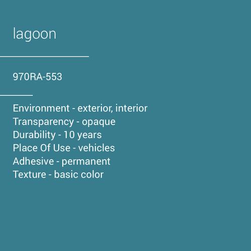 ORACAL® 970RA-553 - Lagoon