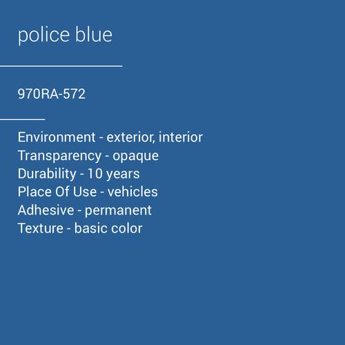 ORACAL® 970RA-572 - Police Blue