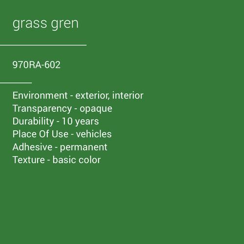 ORACAL® 970RA-602 - Grass Green