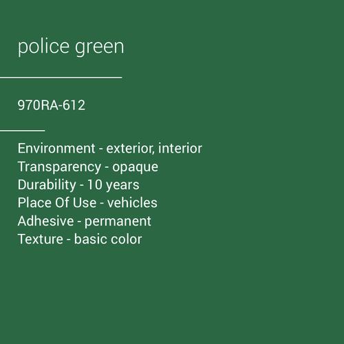 ORACAL® 970RA-612 - Police Green