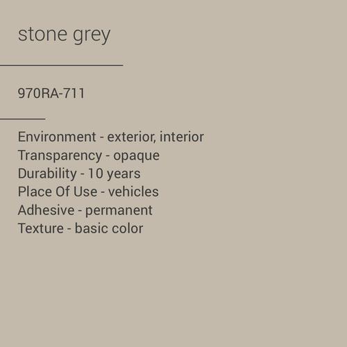 ORACAL® 970RA-711 - Stone Grey