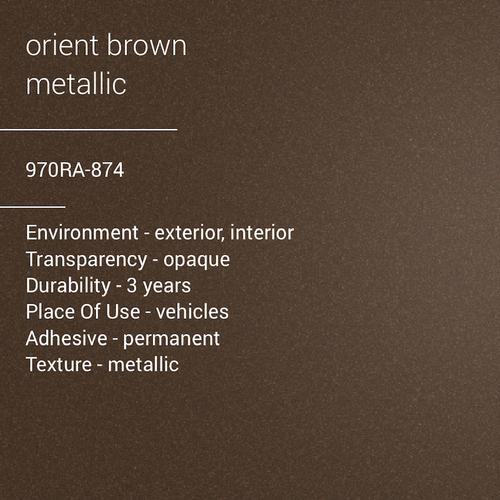 ORACAL® 970RA-874 - Orient Brown Metallic