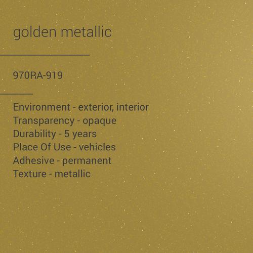 ORACAL® 970RA-919 - Golden Metallic
