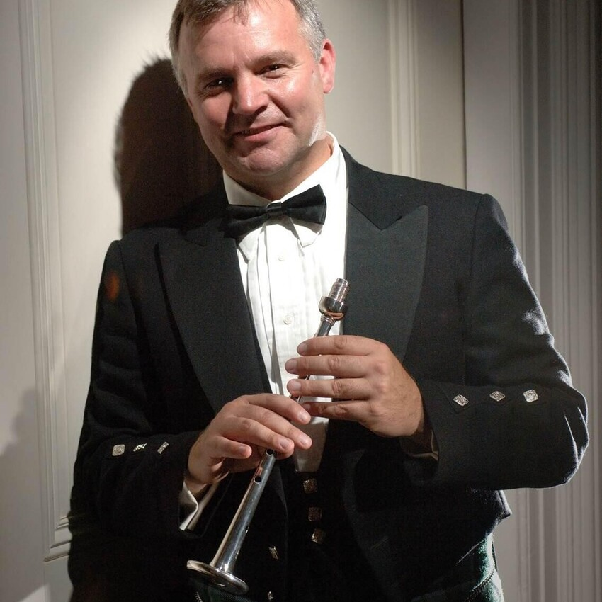 Silver Chanter Piping Competition Winner