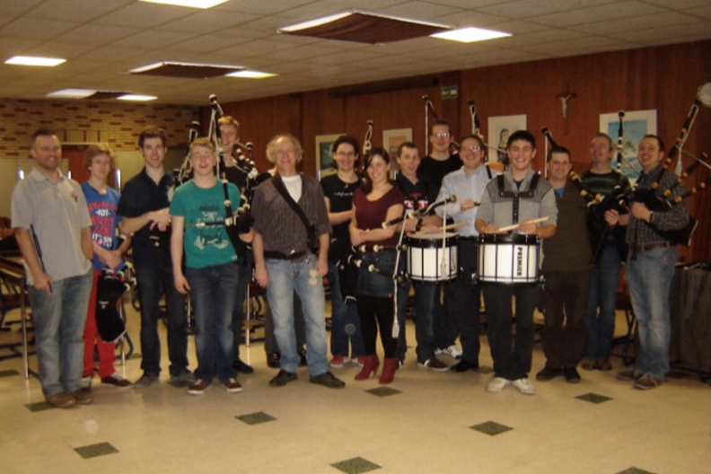 Pipe Band Workshops at Home Venue