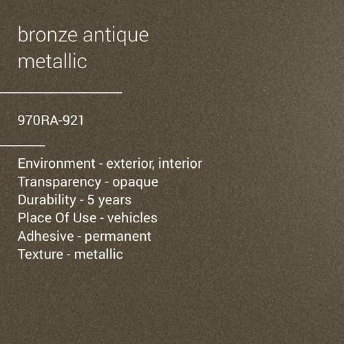 ORACAL® 970RA-921 - Bronze Antique Metallic