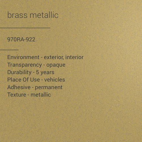 ORACAL® 970RA-922 - Brass Metallic