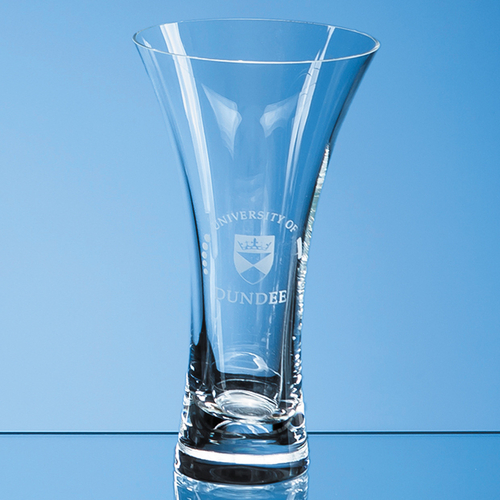 Neptune Plain Trumpet Vase - 18cm