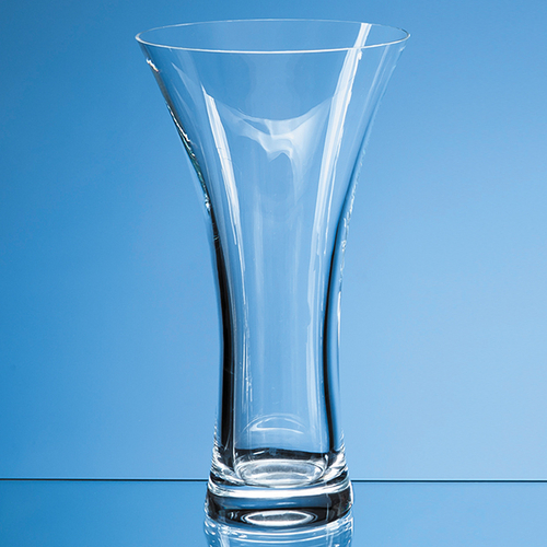 Neptune Plain Trumpet Vase - 25cm