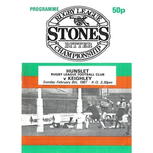 Keighley/Keighley Cougars Away Rugby League Programmes