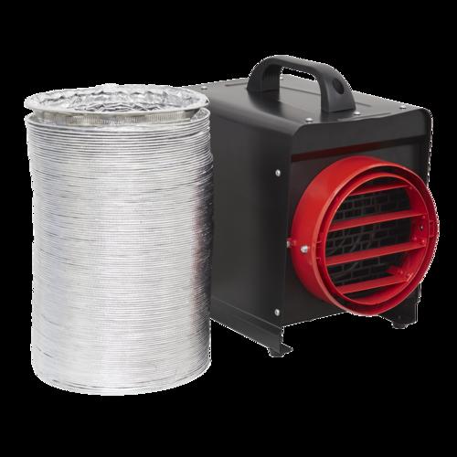 Industrial Fan Heater 3kW - Sealey - DEH3001
