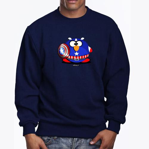 'Captain Fat Penguin' Sweatshirt