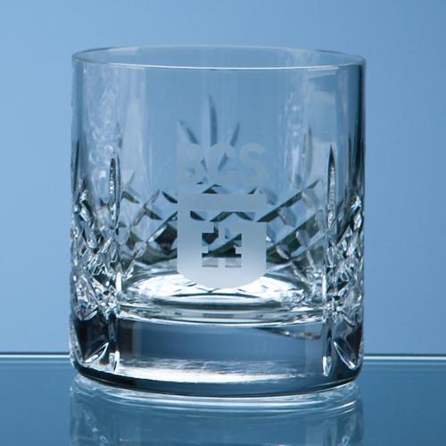 Mayfair Crystalite Panel Whisky Tumbler - 310ml
