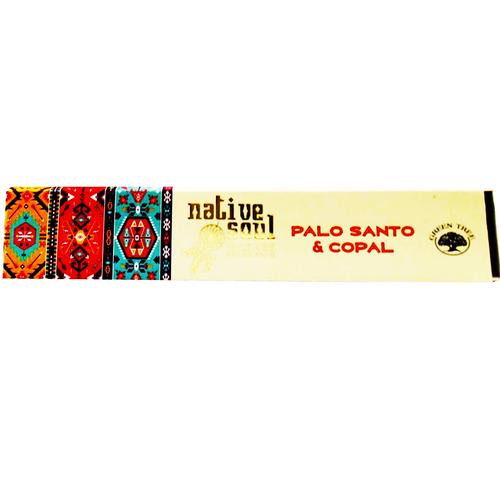 Native Soul Palo Santo & Copal Incense Sticks