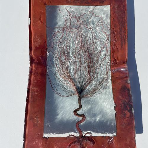 Copper Brown - (Autumn Tree) Plate