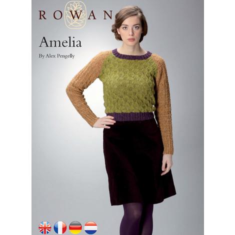 Amelia - Rowan Felted Tweed DK