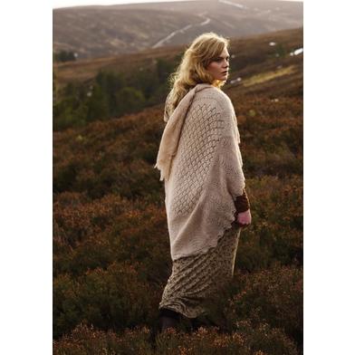 Bressay Hap Wrap - Rowan Fine Lace