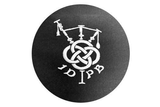 Circular IDPB Sew On Badge
