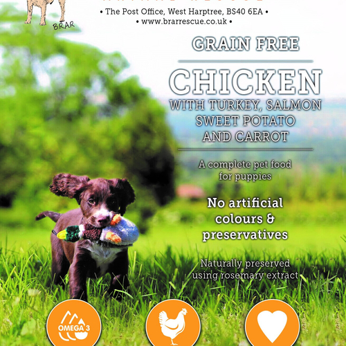 PUPPY...Chicken with Turkey Salmon Sweet Potato & Carrot