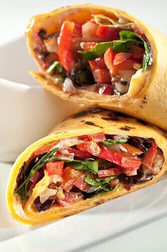 Vegan Burrito Street Food Mobile Catering