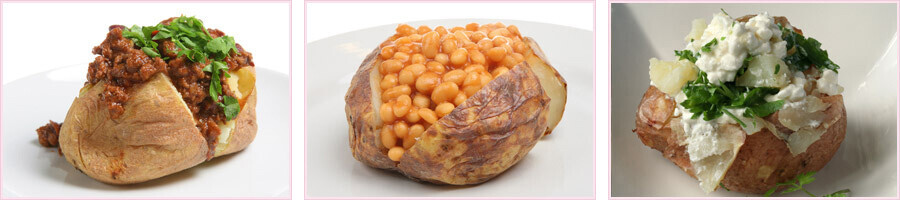 Vegan Jacket Potato Mobile Catering Street Food