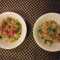 Screaming Mince and Vegetable Cous Cous