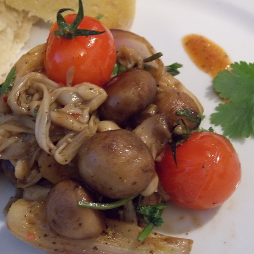Tempting Hot Mushroom Medley