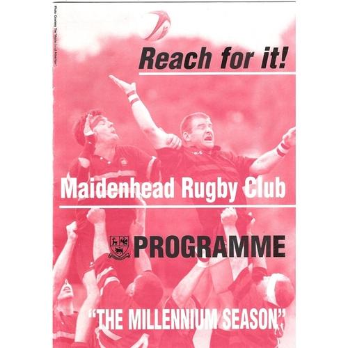 Keynsham Away Rugby Union Programmes