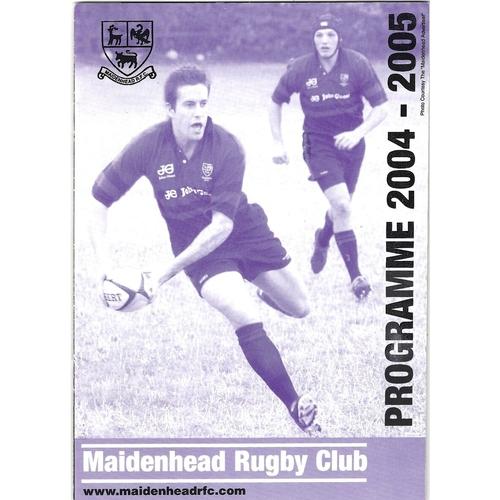 Penrhyn Away Rugby Union Programmes