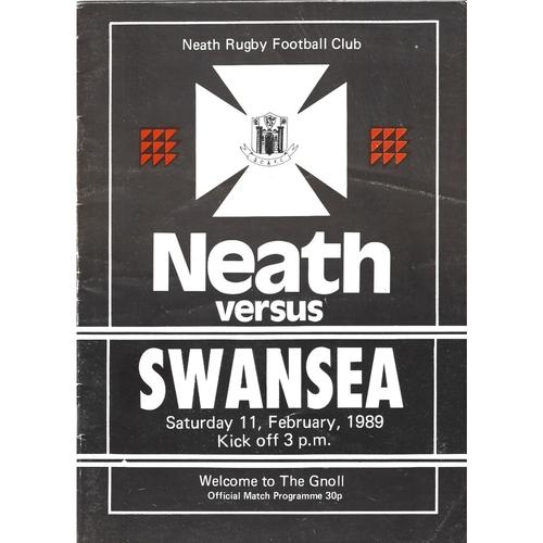 Swansea/Ospreys Away Rugby Union Programmes
