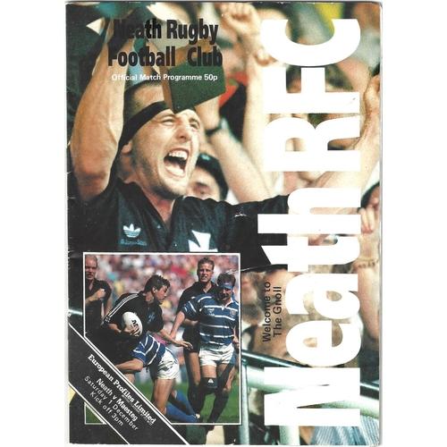 Maesteg Away Rugby Union Programmes