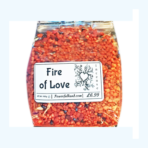 Fire of Love Incense Grains