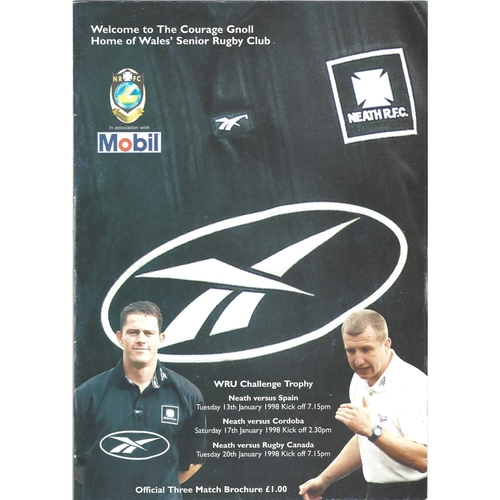Canada Rugby Union Programmes