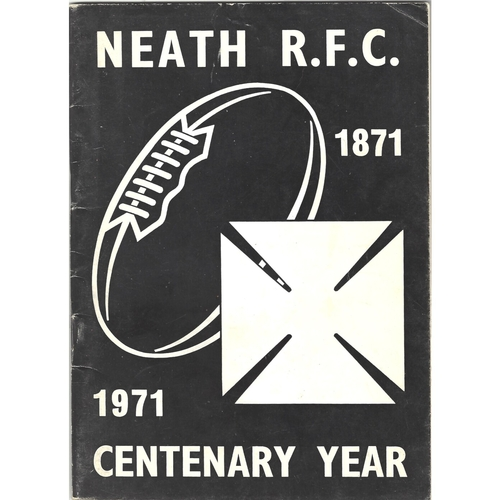 1871/1971 Neath Rugby Football Club Centenary Yearbook